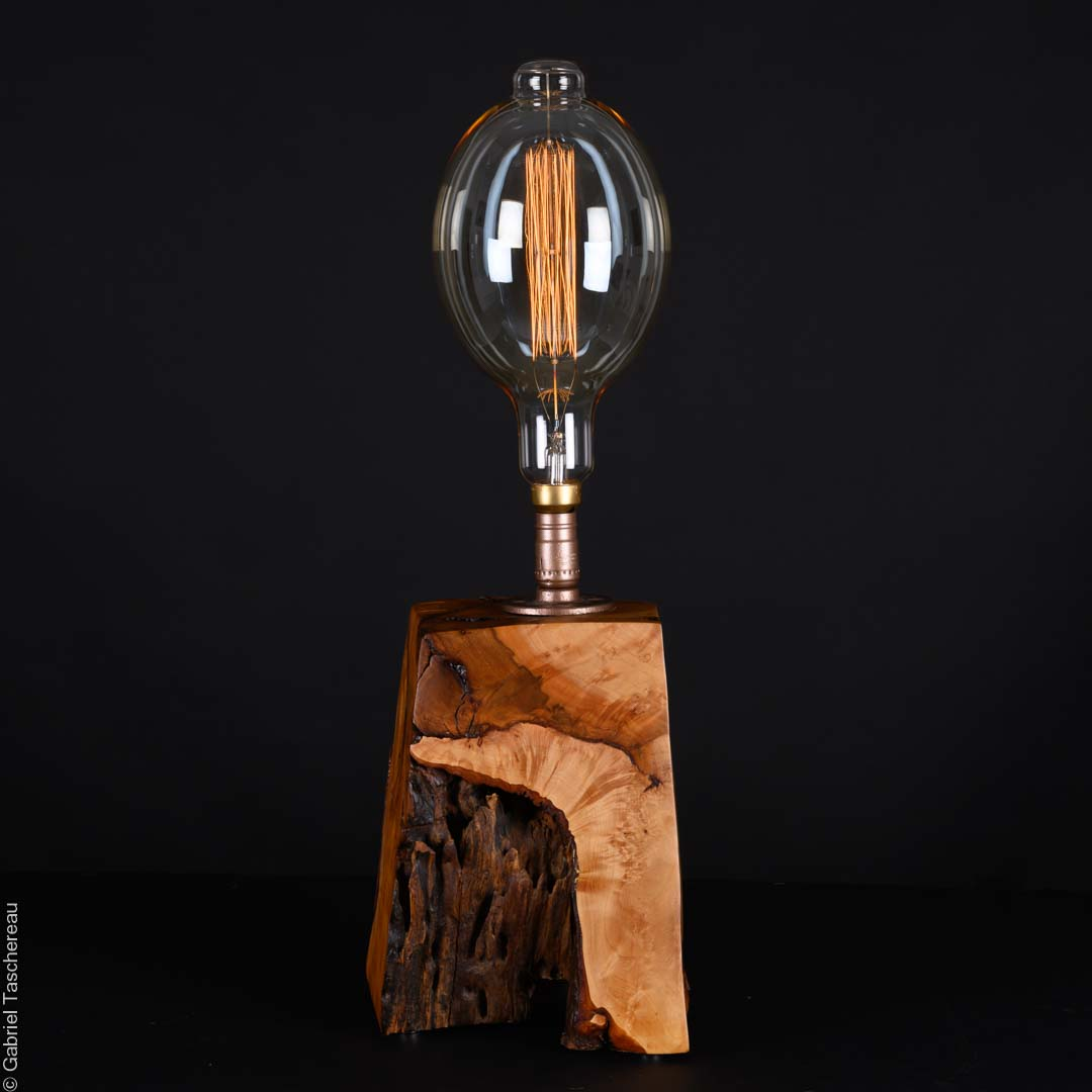Horse Chestnut Wooden Lamp