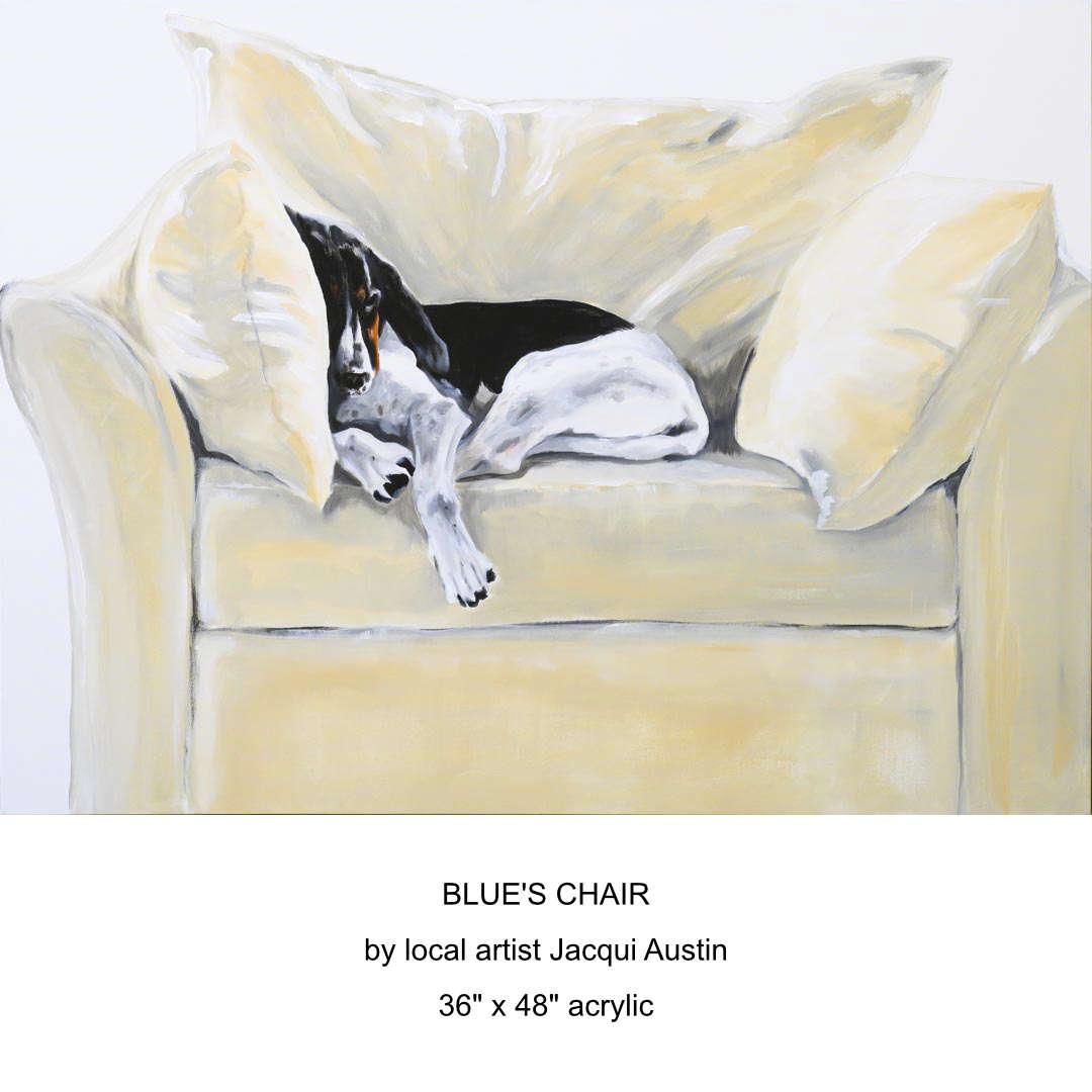 blue's chair