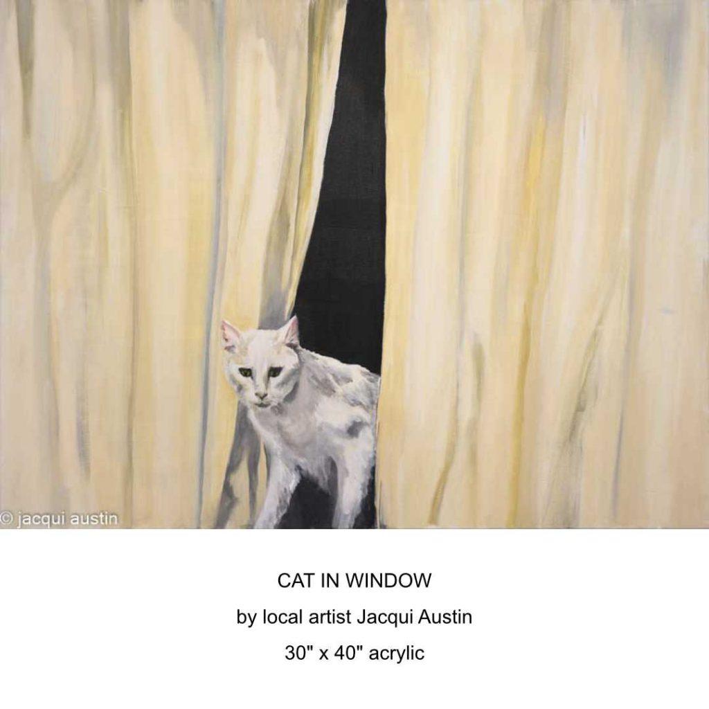 Jacqui Austin Cat In Window